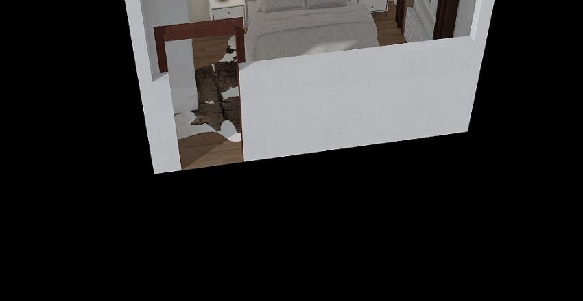 Loznice Interior Design Render