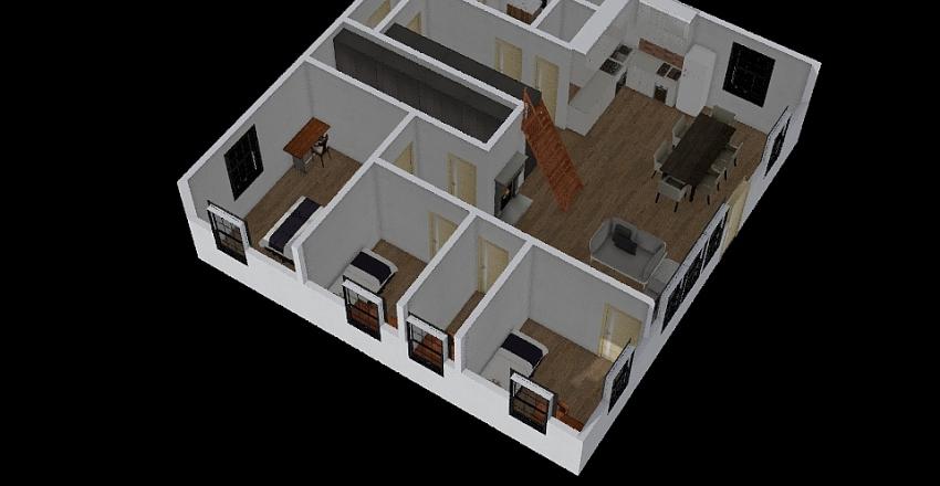 honkavilla Interior Design Render