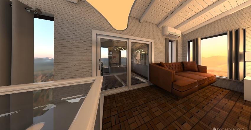 LOFT 880 Interior Design Render