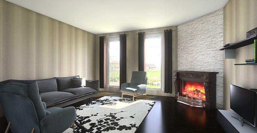 proiect casa 1 Interior Design Render