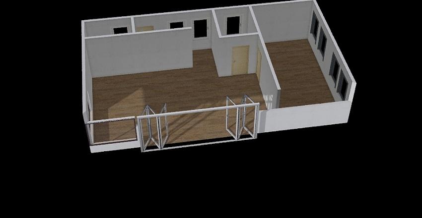 Házikó Interior Design Render