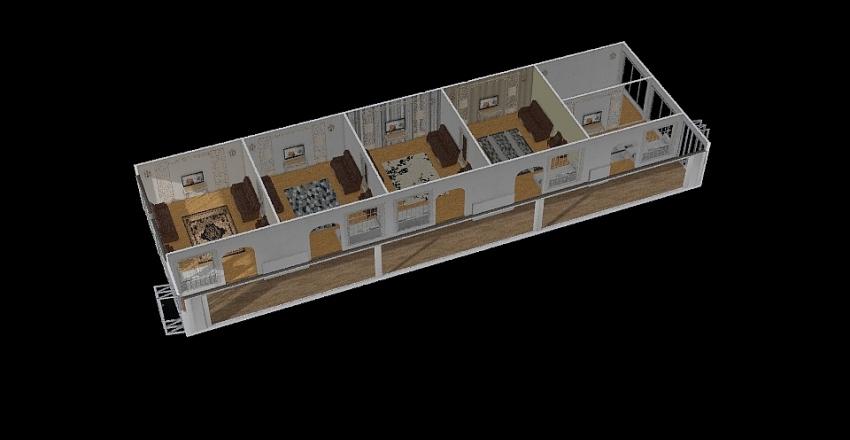 AirPort Lounges Interior Design Render