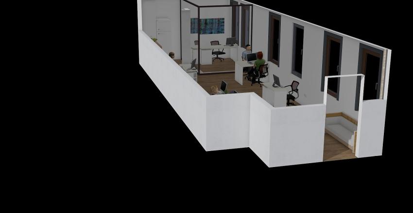 מחלקת המכירות Interior Design Render