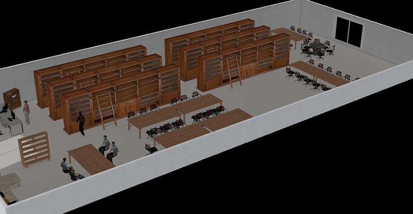 ห้องสมุดสหเวช Interior Design Render