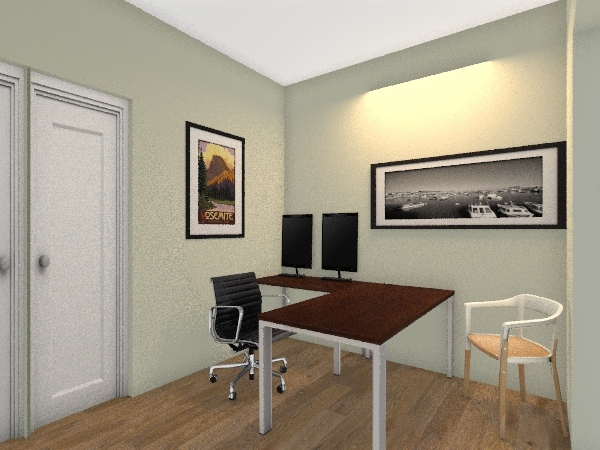 LORENCE OFFICE Interior Design Render