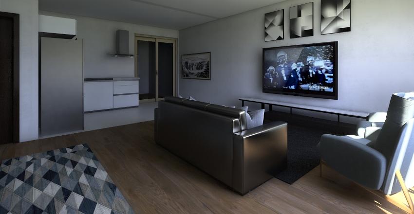 MODELO 111-primeiro piso Interior Design Render