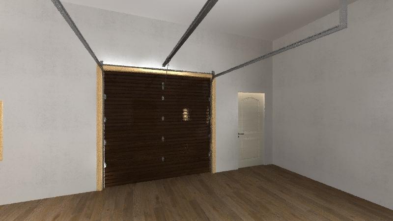 Garage First Interior Design Render