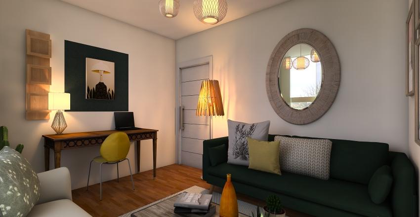 living room1 Interior Design Render