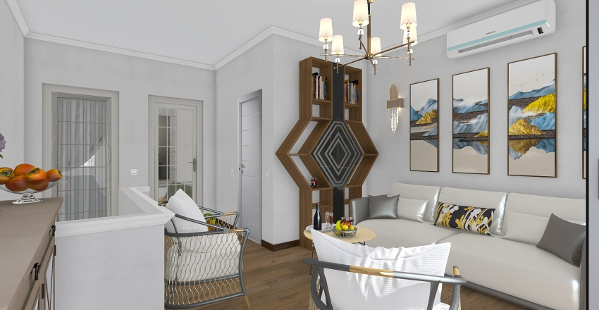 Section A Second floor Interior Design Render