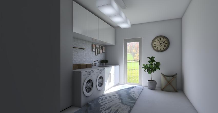 Lavanderia Interior Design Render