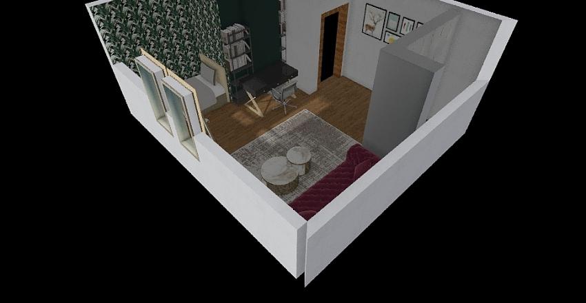 Pokój Zuzi Interior Design Render