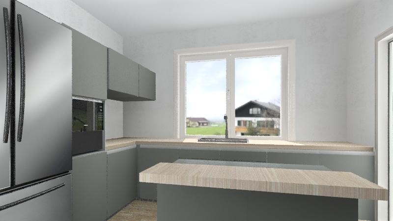 kuchyna Interior Design Render
