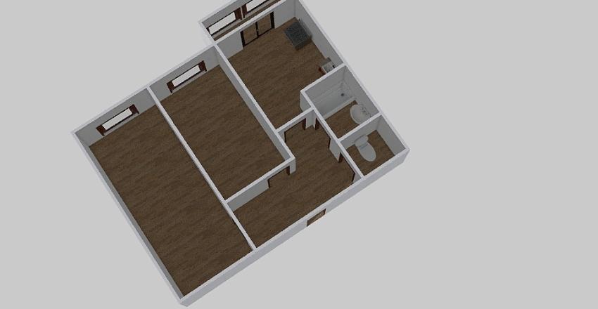 2-комн_036_1 Interior Design Render