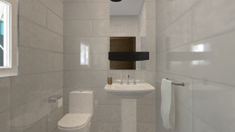Big airy apartment Interior Design Render