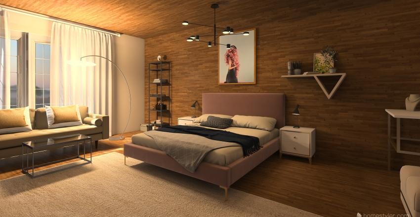 bedroom d Interior Design Render