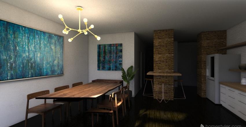 Lundgrengatan Interior Design Render