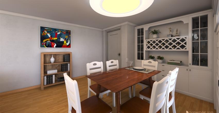 Piso Pedro Martinez, Albacete-Spain Interior Design Render