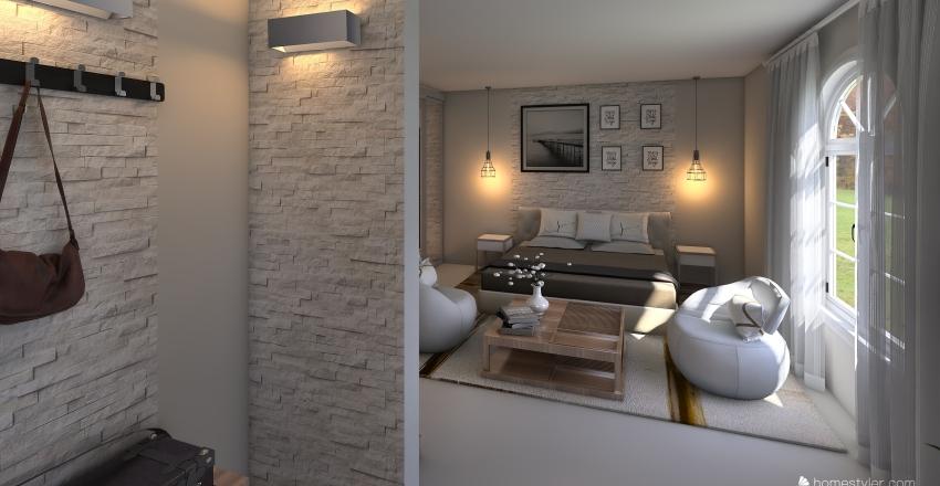 TYPE A Interior Design Render