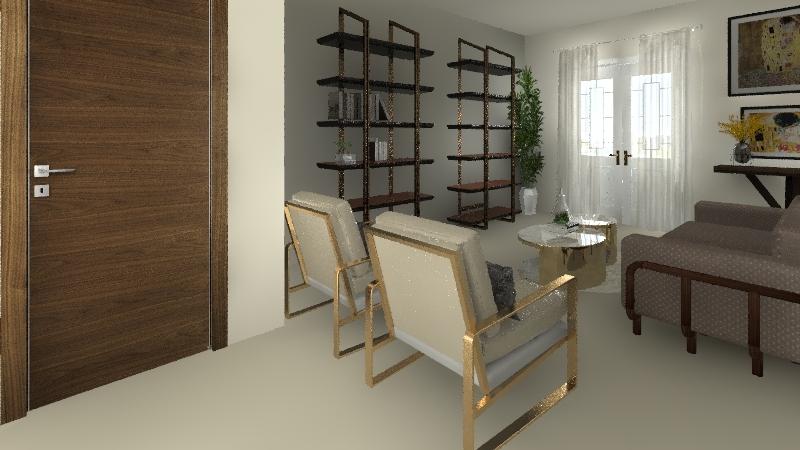 PISO 1ª DE BAEZA Interior Design Render