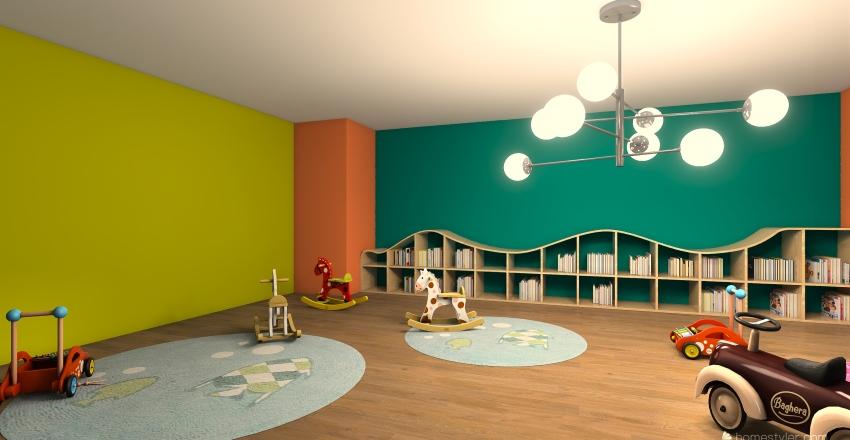 guarderia Interior Design Render