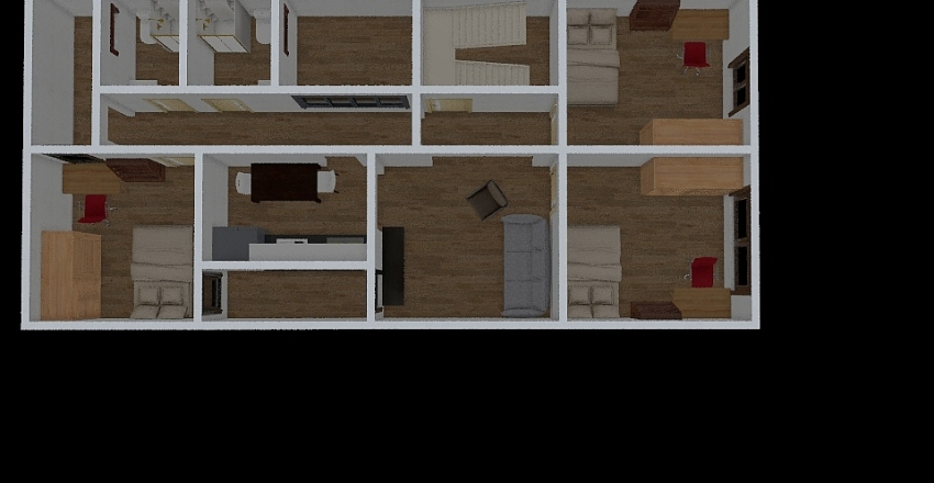 Opcion sencilla Interior Design Render
