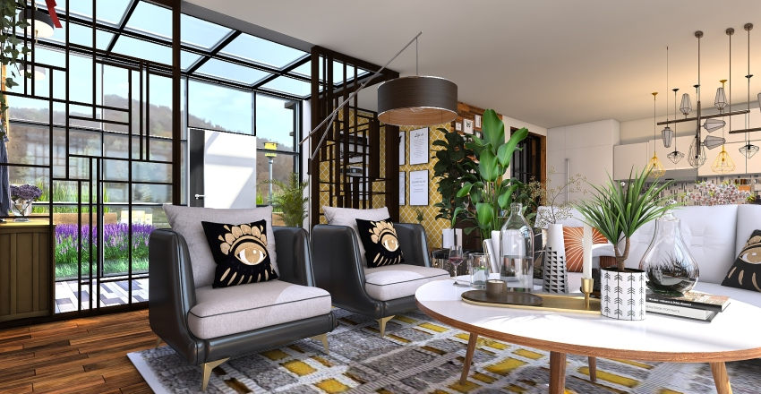 HOUSES SEATTLE Interior Design Render