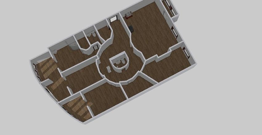 5-комн_0002 Interior Design Render