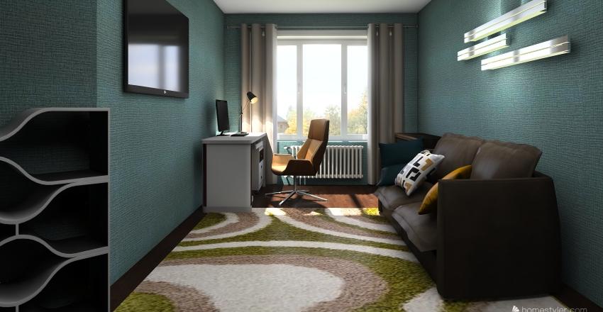 Чистовой Interior Design Render