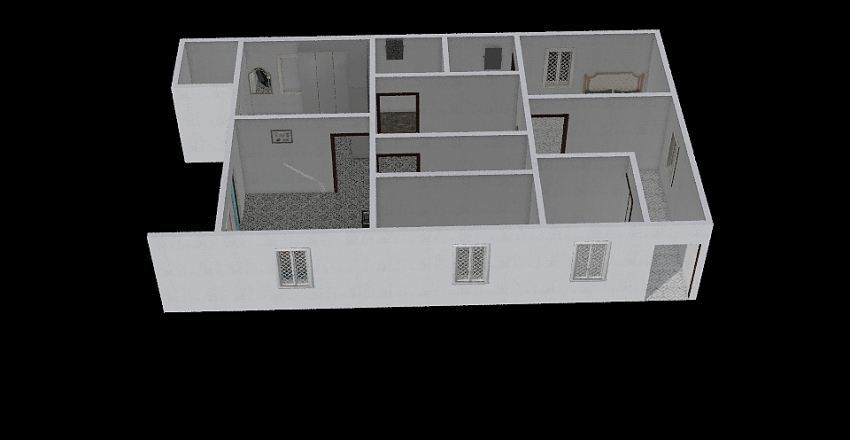 om nnnn Interior Design Render