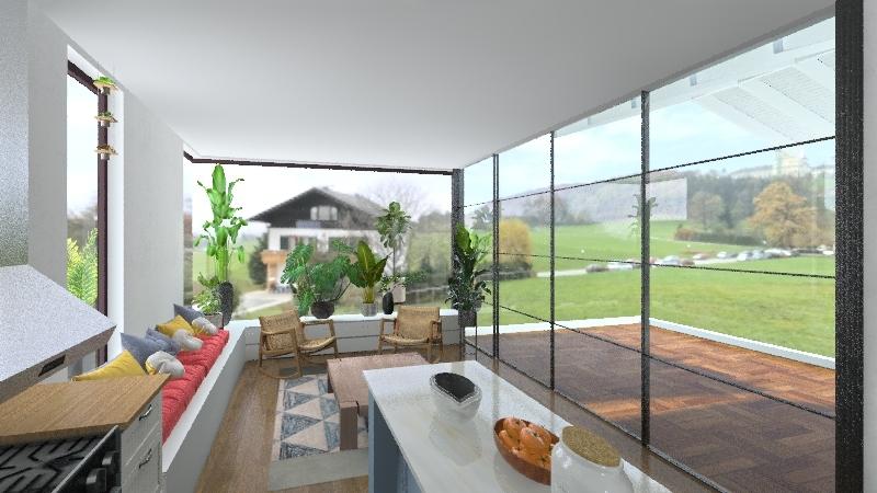Greycourt addition first floor Interior Design Render