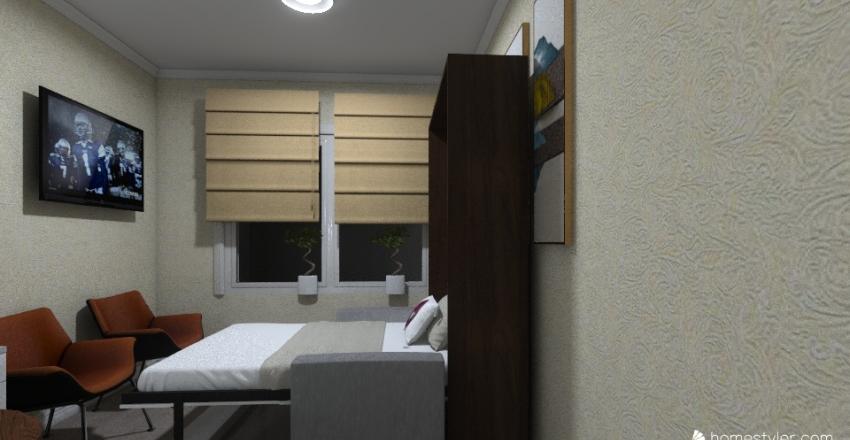 Железнодорож 10 17Х спальные места Interior Design Render