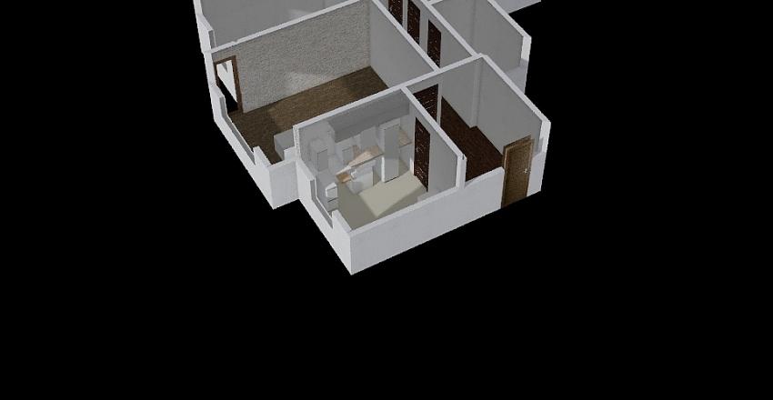 Žilvino butas Interior Design Render
