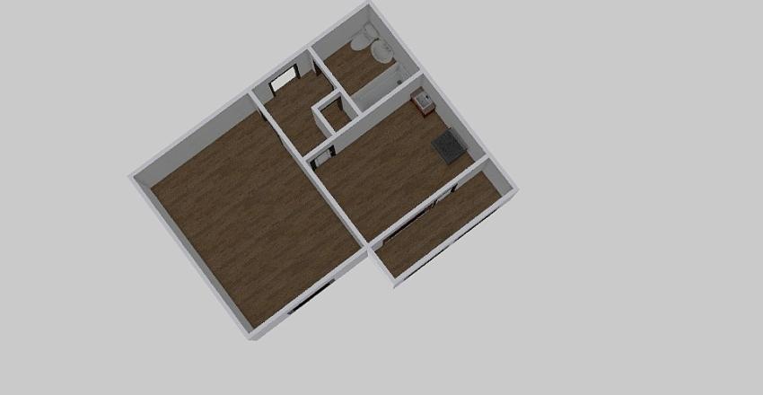1-комн_0212_12 Interior Design Render