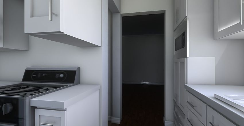 Kitchen 2020 Interior Design Render