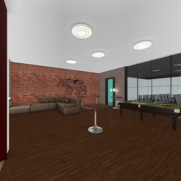 STUDENT AREA Interior Design Render
