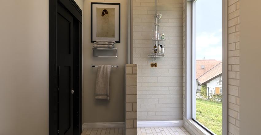 Secert Garden central water Interior Design Render