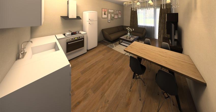 Erős Úr Átalakítás2 Interior Design Render