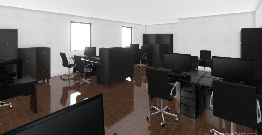 OFICINAS RHyC Interior Design Render