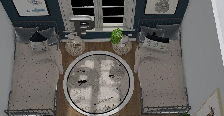 Colonial Villa Reno Interior Design Render