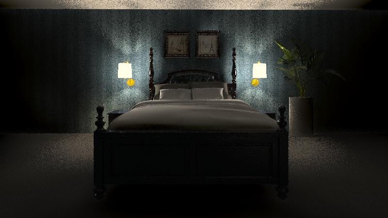 Hotel Suite Interior Design Render