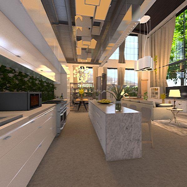 loft 5540 Interior Design Render