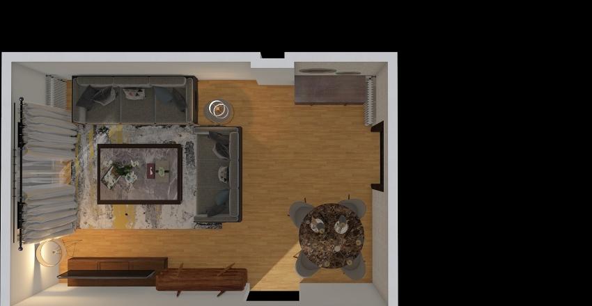 ΛΑΙΟΣ Interior Design Render