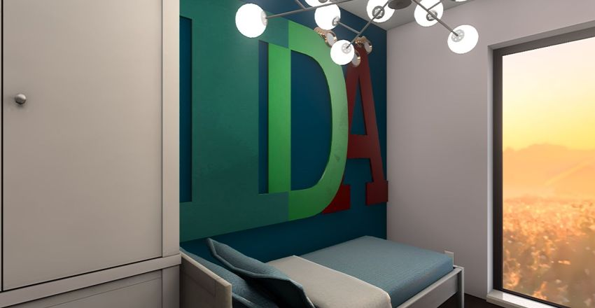 finalny pietro 10.02 Interior Design Render
