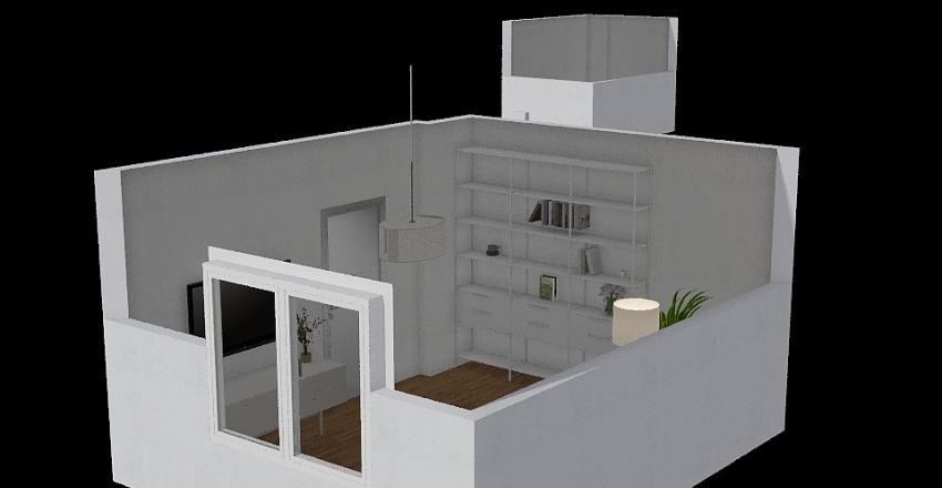 pokoj 1  Interior Design Render