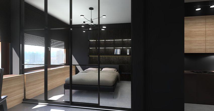 Alabang The Levels 1417 Interior Design Render