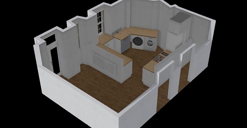 Nyt kokken Interior Design Render