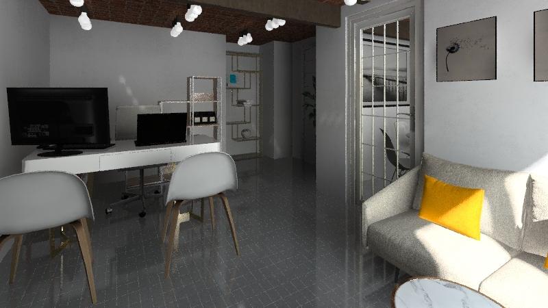 Warynskiego Interior Design Render