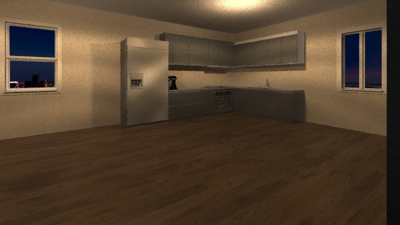 house mr d Interior Design Render