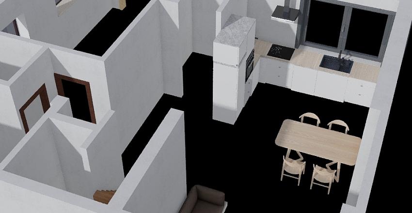 GroundFloor Interior Design Render