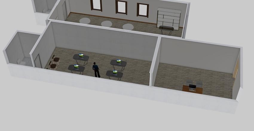 Plano proyecto Interior Design Render